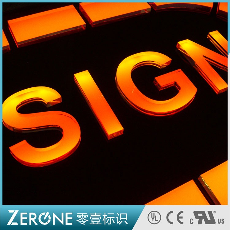 亚克力发光字-LED SIGN02