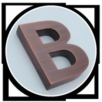 Metal Letters Series