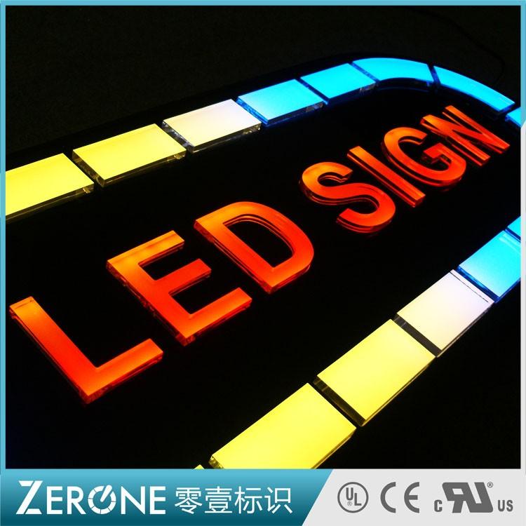 亚克力发光字-LED SIGN01